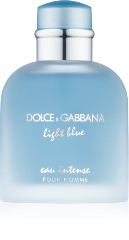 dolce gabbana light blue eau intense pour homme eau de. Black Bedroom Furniture Sets. Home Design Ideas