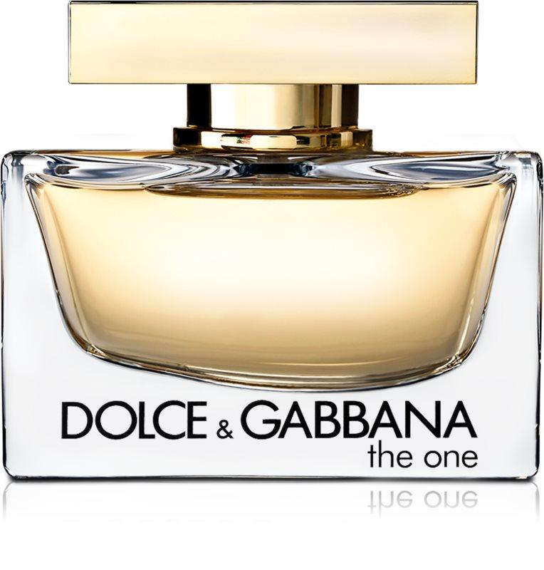 dolce gabbana the one eau de parfum f r damen 75 ml. Black Bedroom Furniture Sets. Home Design Ideas