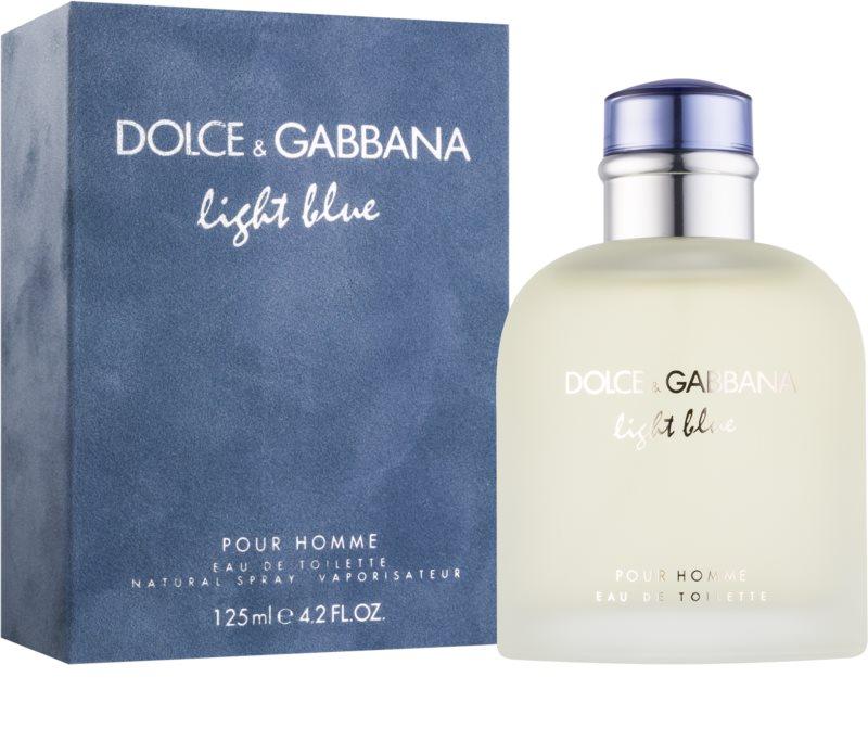 dolce gabbana light blue pour homme eau de toilette f r. Black Bedroom Furniture Sets. Home Design Ideas
