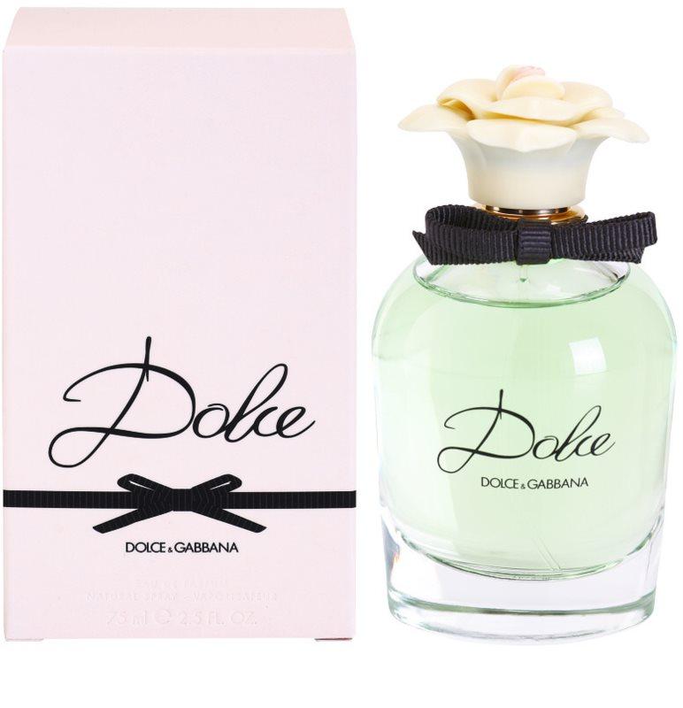 dolce gabbana dolce eau de parfum para mulheres 75 ml. Black Bedroom Furniture Sets. Home Design Ideas