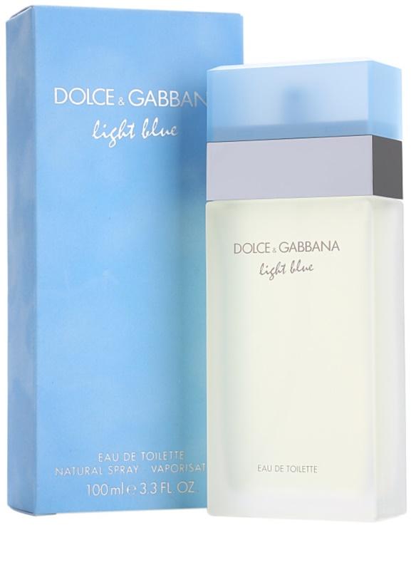 dolce gabbana light blue eau de toilette for women 100 ml. Black Bedroom Furniture Sets. Home Design Ideas