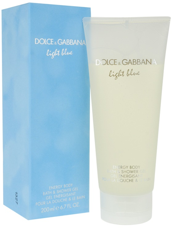 Dolce gabbana light blue douchegel voor vrouwen 200 ml - Italiaanse douchegel ...