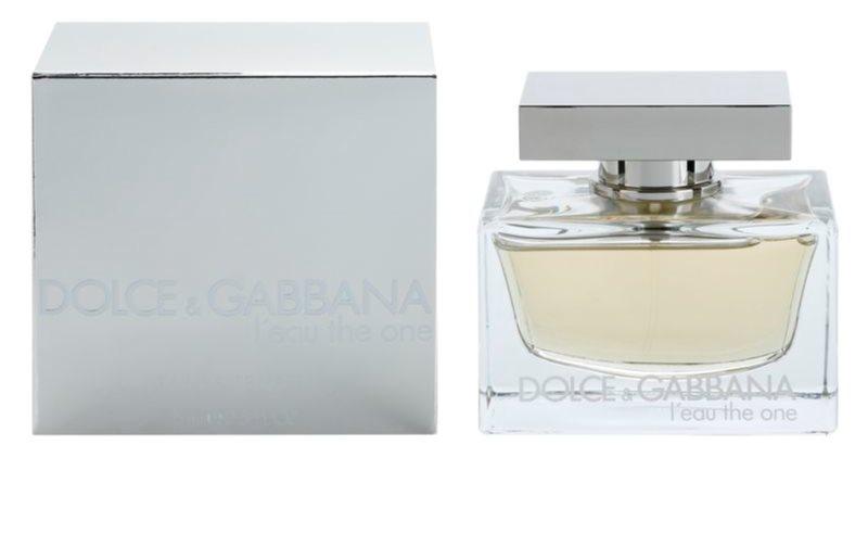 Dolce   Gabbana L Eau The One, Eau de Toilette para mulheres 75 ml ... 6b3b9556c9