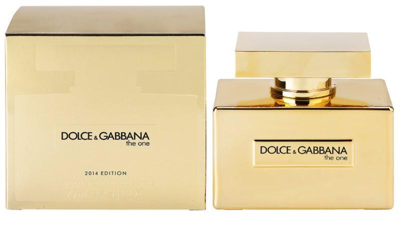 dolce gabbana the one 2014 eau de parfum f r damen 75. Black Bedroom Furniture Sets. Home Design Ideas