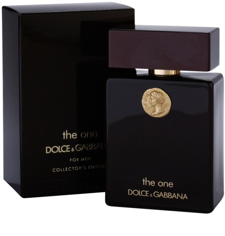 dolce gabbana the one collector s edition eau de toilette pour homme 50 ml. Black Bedroom Furniture Sets. Home Design Ideas