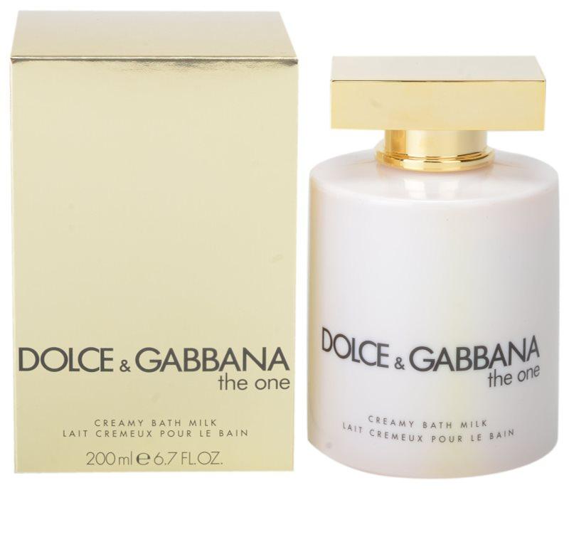 Dolce   Gabbana The One, crème de douche pour femme 200 ml (lait de ... 25e4a75ce422