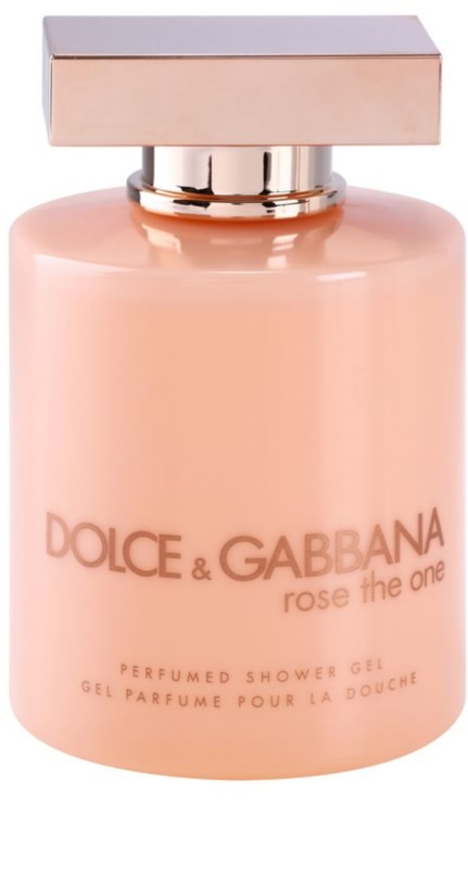 Dolce   Gabbana Rose The One, gel douche pour femme 200 ml   notino.fr f07ecceee2ad
