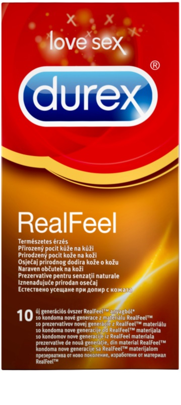 Durex realfeel preservativos para um sentimento natural notino durex realfeel preservativos para um sentimento natural fandeluxe Choice Image