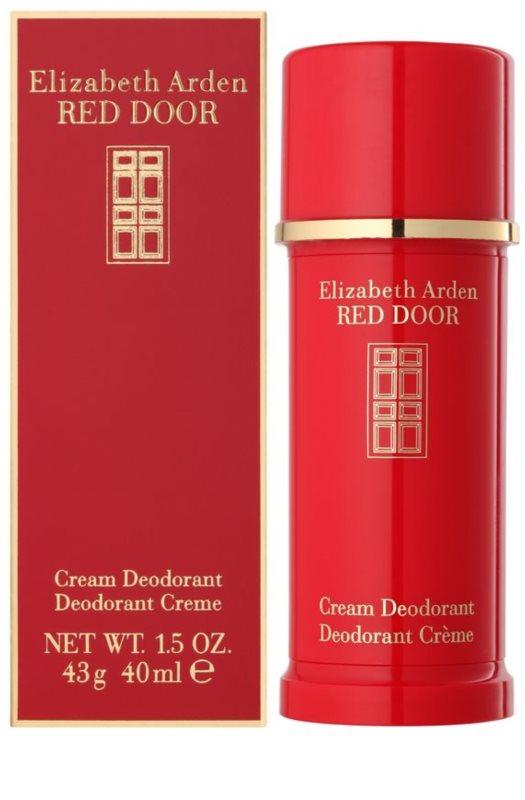 elizabeth arden red door deodorant cream for women 40 ml