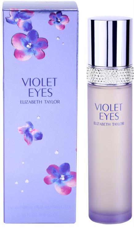 Elizabeth Taylor Violet Eyes Eau De Parfum For Women 100 Ml