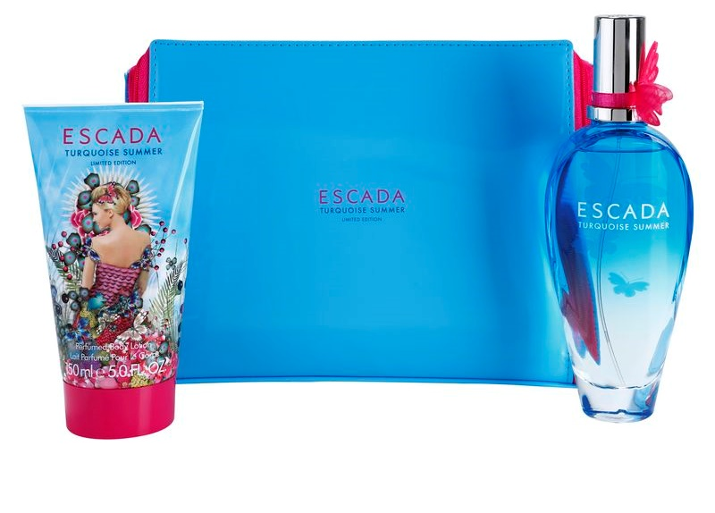 Escada Turquoise Summer Gift Set I Notinocouk