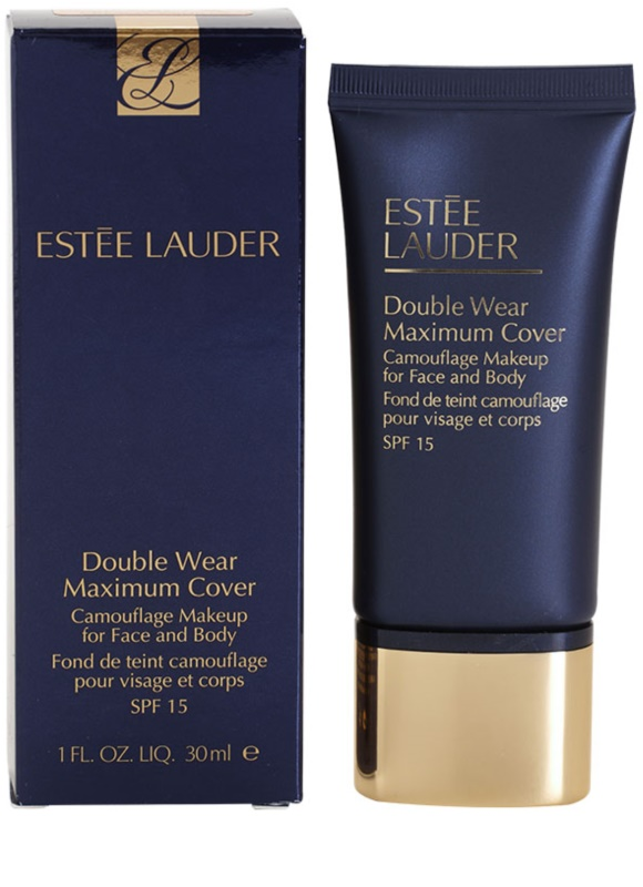 estee lauder double wear maximum cover fond de teint couvrant visage et corps. Black Bedroom Furniture Sets. Home Design Ideas