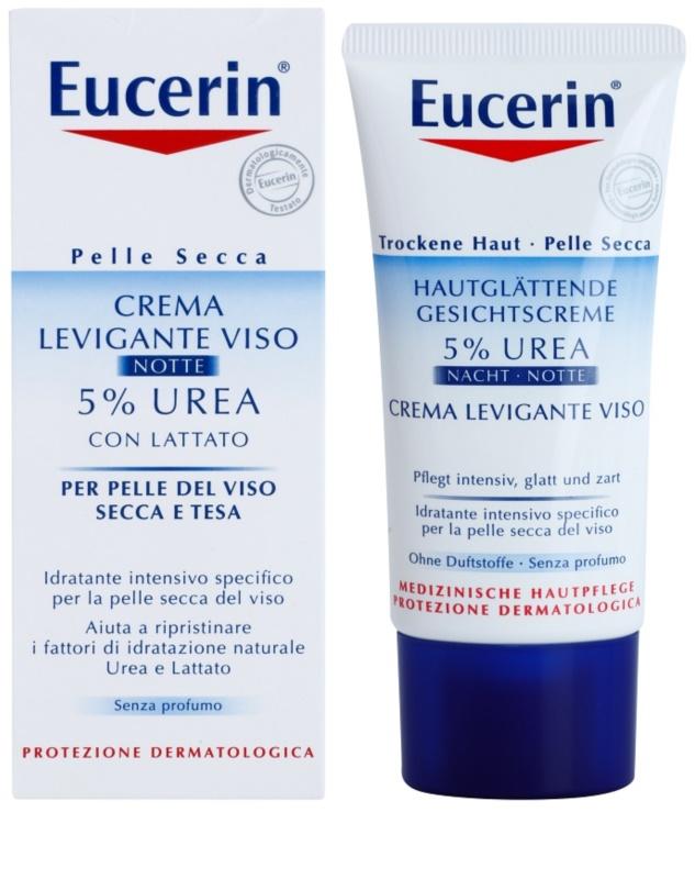 eucerin dry skin urea cr me de nuit hydratante pour peaux s ches. Black Bedroom Furniture Sets. Home Design Ideas