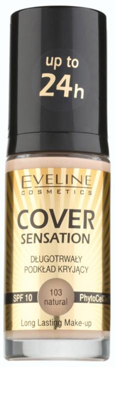 eveline cosmetics cover sensation deckendes make up. Black Bedroom Furniture Sets. Home Design Ideas
