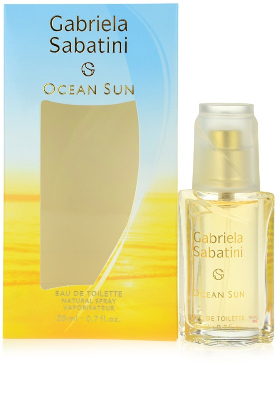 Gabriela Sabatini Ocean Sun Eau De Toilette For Women 20 Ml