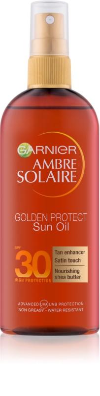 garnier zonnebrand olie