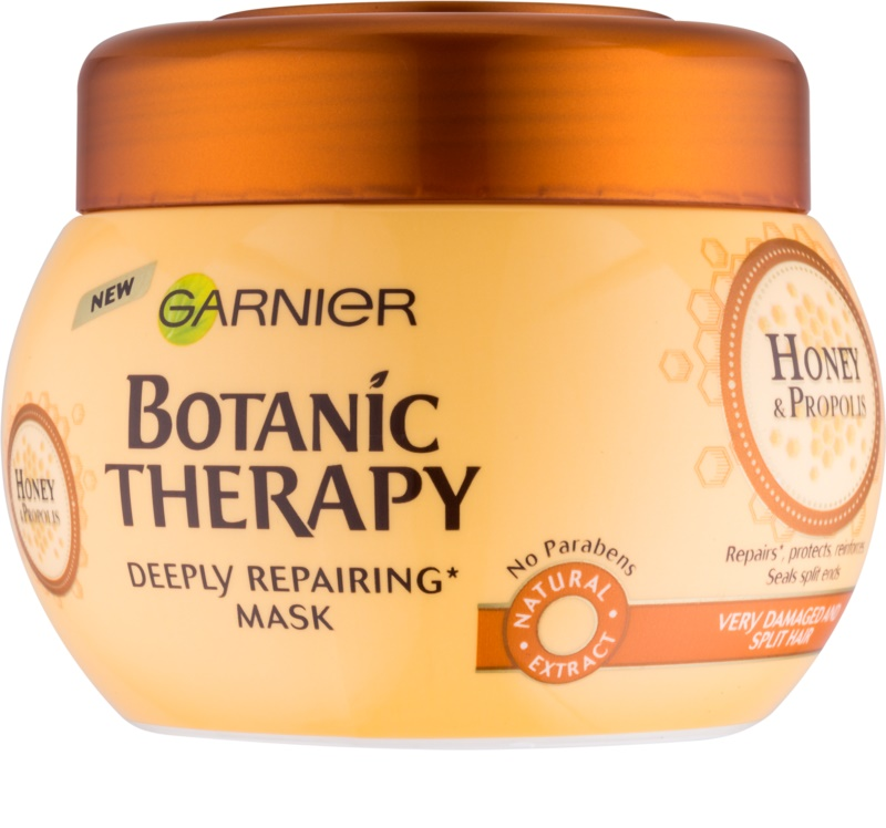 garnier botanic therapy honey masque r novateur pour cheveux ab m s. Black Bedroom Furniture Sets. Home Design Ideas