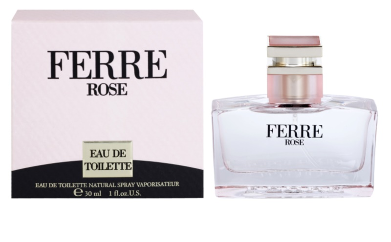 gianfranco ferr ferr rose eau de toilette pour femme 30 ml. Black Bedroom Furniture Sets. Home Design Ideas
