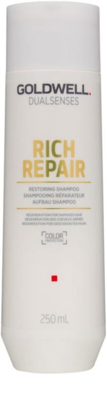 goldwell dualsenses rich repair erneuerndes shampoo f r trockenes und besch digtes haar. Black Bedroom Furniture Sets. Home Design Ideas