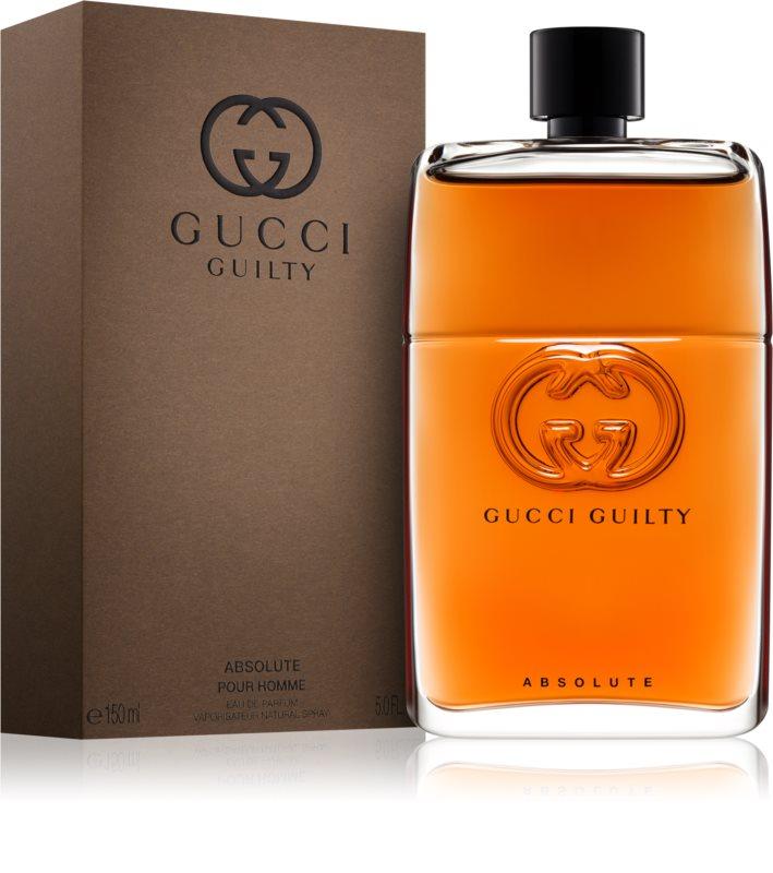 gucci guilty absolute eau de parfum f r herren 150 ml. Black Bedroom Furniture Sets. Home Design Ideas