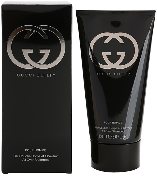 gucci guilty pour homme duschgel f r herren 150 ml. Black Bedroom Furniture Sets. Home Design Ideas