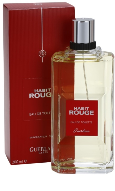 guerlain habit rouge eau de toilette pour homme 200 ml. Black Bedroom Furniture Sets. Home Design Ideas