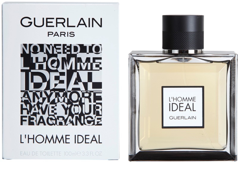 guerlain l 39 homme ideal eau de toilette pour homme 100 ml. Black Bedroom Furniture Sets. Home Design Ideas