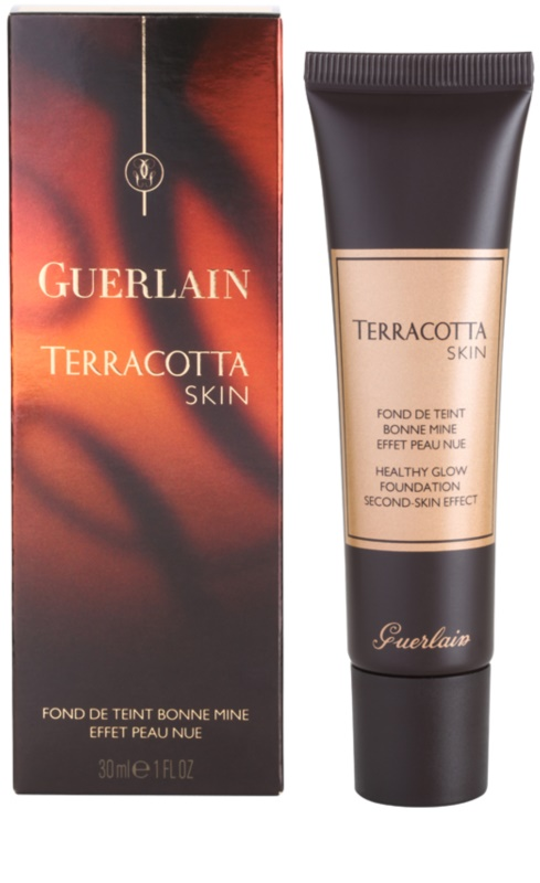 guerlain terracotta skin fond de teint pour un look naturel. Black Bedroom Furniture Sets. Home Design Ideas