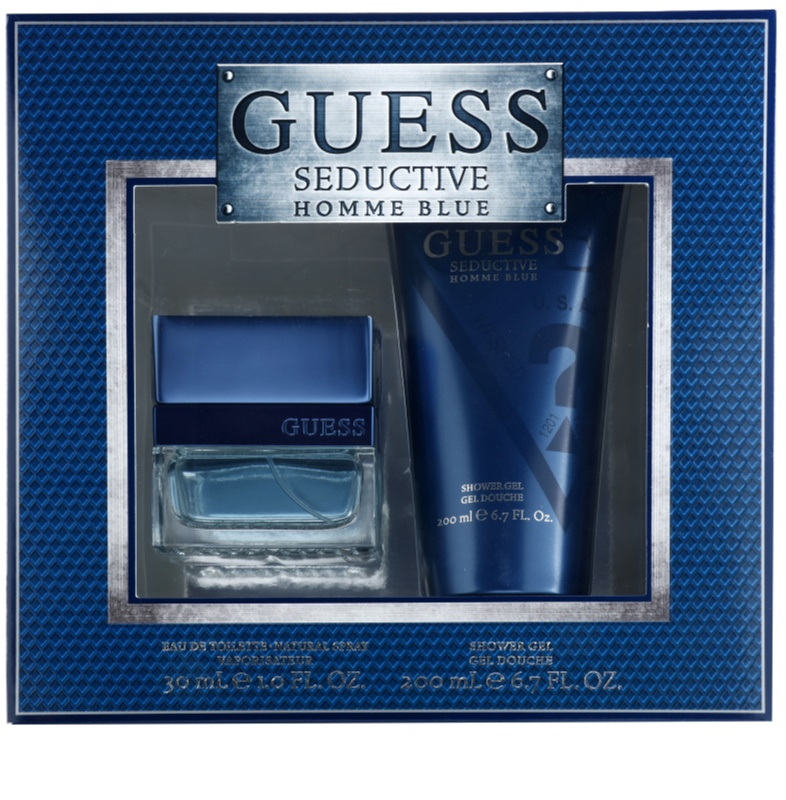 Guess Seductive Homme Blue Gift Set 049b71452f