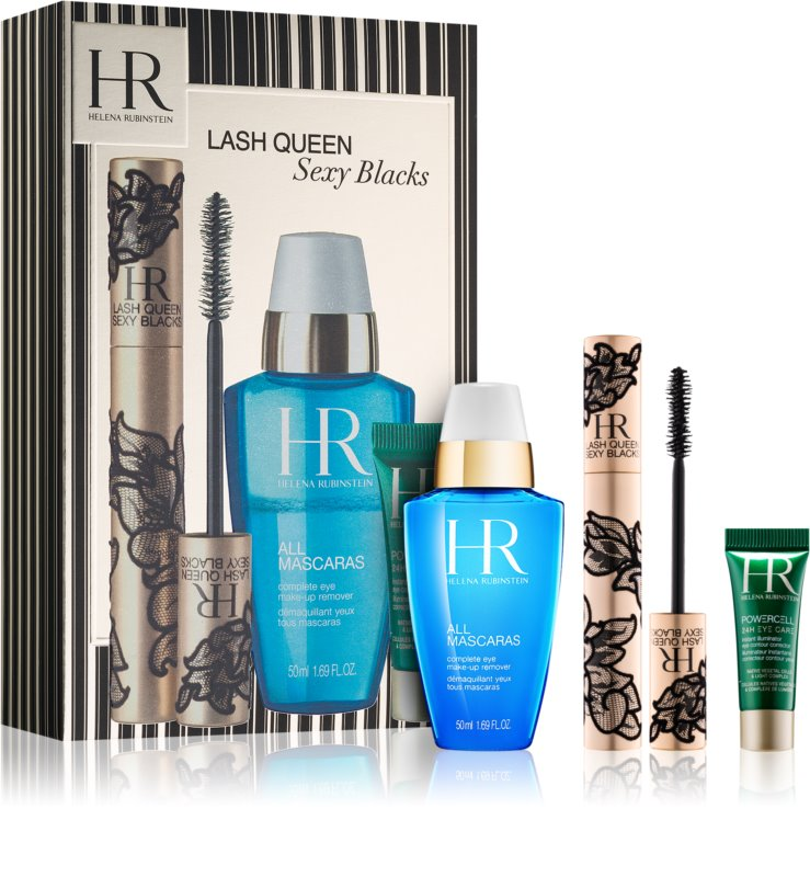Helena Rubinstein Lash Queen Sexy Blacks Cosmetic Set I  (for Volume and  Curl)
