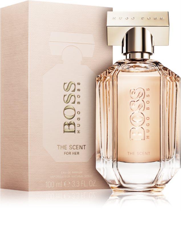 hugo boss the scent for her eau de parfum 100 ml. Black Bedroom Furniture Sets. Home Design Ideas