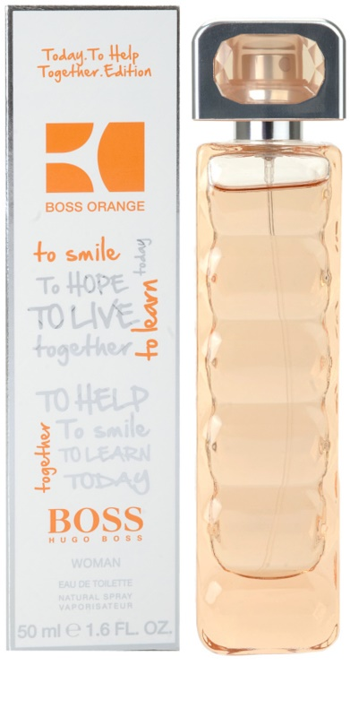 Hugo Boss Boss Orange Charity Edition Eau De Toilette For Women 50
