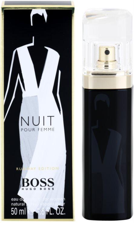 Hugo Boss Boss Nuit Runway Edition Eau De Parfum Pentru Femei 50 Ml