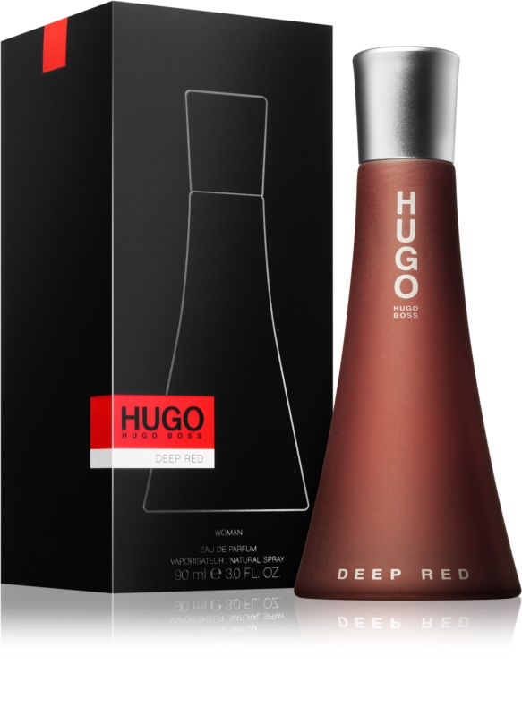 hugo boss deep red eau de parfum f r damen 90 ml. Black Bedroom Furniture Sets. Home Design Ideas