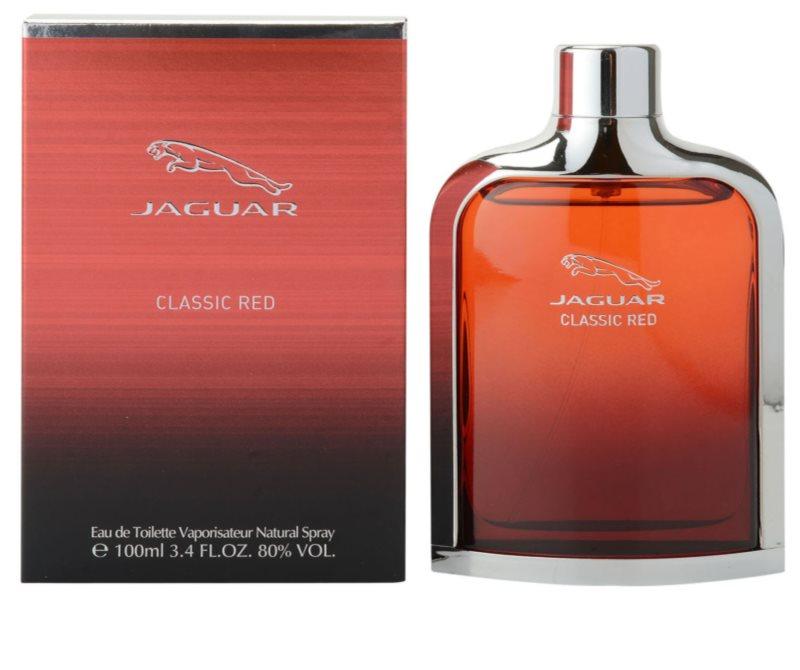 jaguar classic red eau de toilette f r herren 100 ml. Black Bedroom Furniture Sets. Home Design Ideas