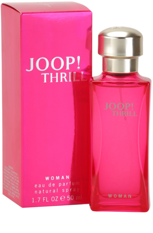 joop thrill woman eau de parfum f r damen 50 ml. Black Bedroom Furniture Sets. Home Design Ideas