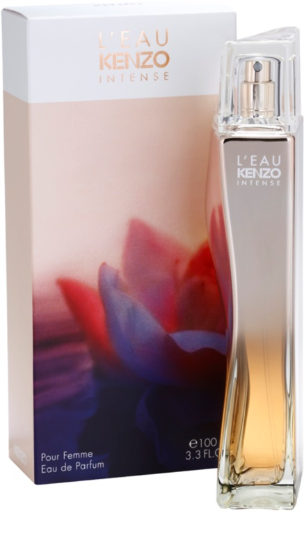 kenzo l 39 eau kenzo intense eau de parfum f r damen 100 ml. Black Bedroom Furniture Sets. Home Design Ideas