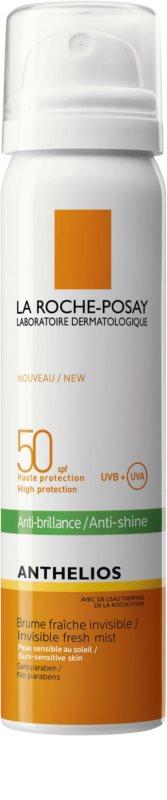 La Roche-Posay Anthelios spray refrescante para o rosto para proteção de raios  UVA UVB SPF 50 fad058d10b