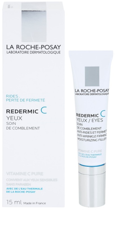 la roche posay redermic c cr me anti rides yeux pour peaux sensibles. Black Bedroom Furniture Sets. Home Design Ideas
