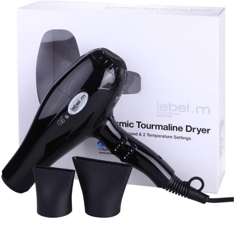 ... label.m Electrical Ceramic Tourmaline Dryer Black фен для волосся 2 ... ad5e8ac9c77f9