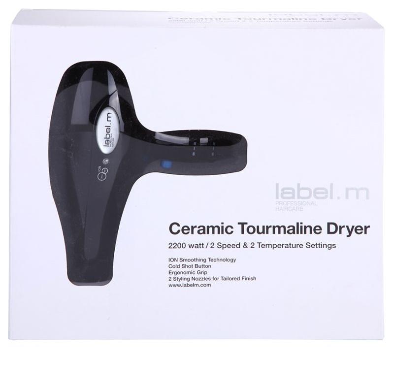 ... label.m Electrical Ceramic Tourmaline Dryer Black фен для волосся 3 1e1ea3586460e