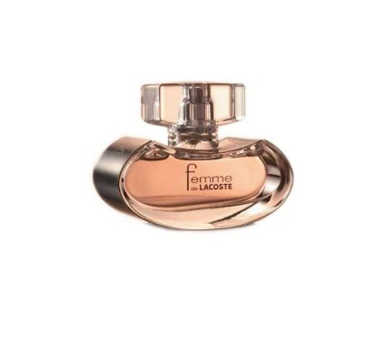lacoste femme de lacoste eau de parfum f r damen 75 ml. Black Bedroom Furniture Sets. Home Design Ideas