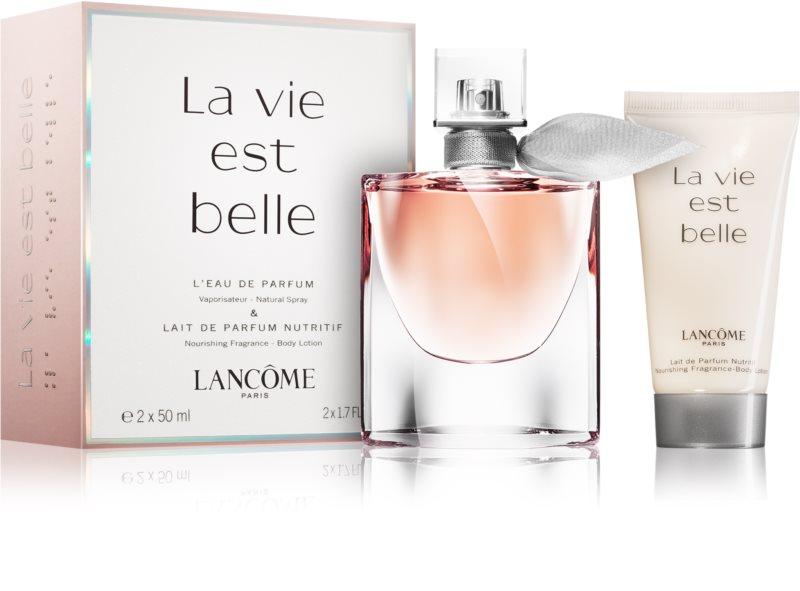 Lanc me la vie est belle coffret cadeau iii - Parfum lancome la vie est belle pas cher ...