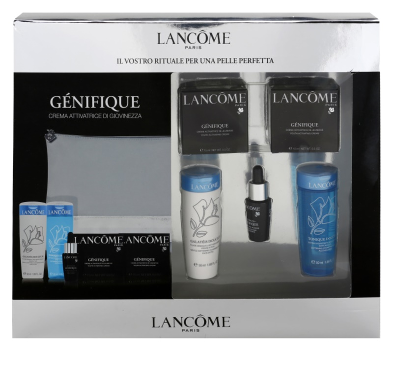 how to use lancome visionnaire and genifique