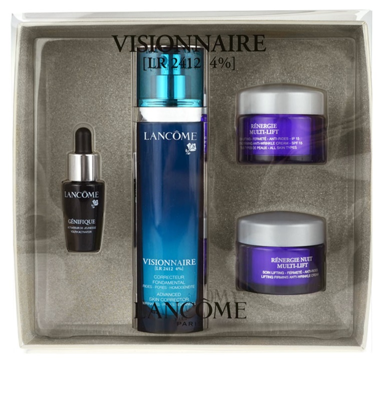 lancome visionnaire set how to use