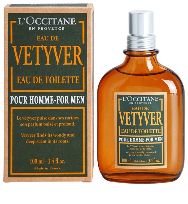 L 39 occitane eau de vetyver pour homme eau de toilette pour - L eau des toilettes remonte ...