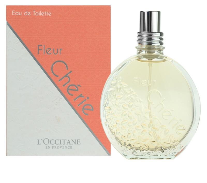 L 39 occitane fleur ch rie eau de toilette f r damen 75 ml - L eau des toilettes remonte ...