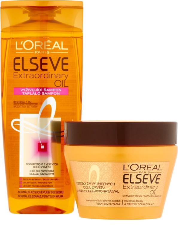 L Oréal Paris Elseve Extraordinary Oil kozmetická sada III. 1 85ed7e4d161
