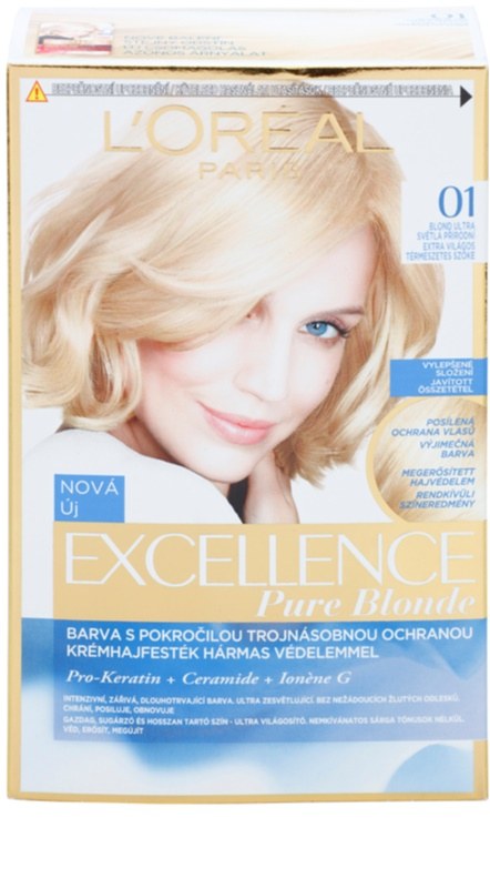 Loral Paris Excellence Creme Hair Color Notino
