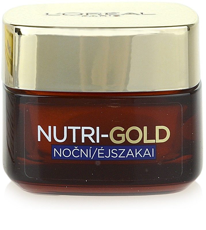 L'ORÉAL PARIS NUTRI-GOLD Night Cream | notino.co.uk